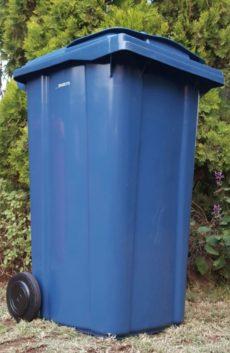 240L BLUE WHEELIE BIN